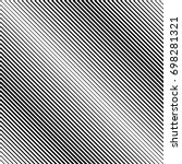 abstract black diagonal striped ... | Shutterstock .eps vector #698281321