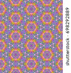 abstract colorful tile pattern  ...   Shutterstock . vector #698292889