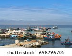 ly son island  quang ngai... | Shutterstock . vector #698296705