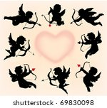 cupids collection | Shutterstock . vector #69830098