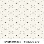 abstract seamless geometric... | Shutterstock .eps vector #698303179