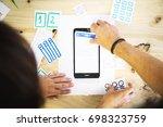 mobile design wireframe plan