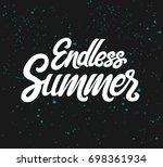 vector hand written lettering...   Shutterstock .eps vector #698361934