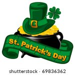 Patrick Day Background With...