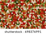 light green  red vector modern...   Shutterstock .eps vector #698376991