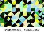 dark green  yellow vector red...   Shutterstock .eps vector #698382559