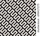 vector seamless pattern. modern ... | Shutterstock .eps vector #698417275