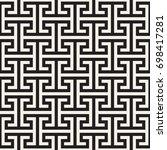 vector seamless pattern. modern ... | Shutterstock .eps vector #698417281