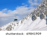 Gondola On Cable On Switzerlan...