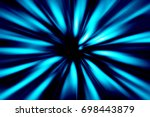 blue and black abstract... | Shutterstock . vector #698443879