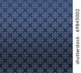 Damask Pattern On A Silk...