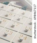 advent calender   Shutterstock . vector #698467117