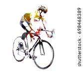 road cycling  abstract...