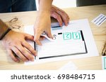 designers planning a website