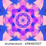 abstract background pink... | Shutterstock . vector #698485507