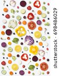 Assorted Sliced Vegetables And...