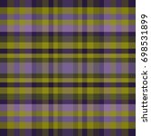 abstract vector tartan seamless ... | Shutterstock .eps vector #698531899