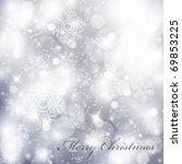vector elegant christmas... | Shutterstock .eps vector #69853225