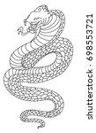 Snake Cobra Tattoo Style Cobra...