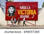 cardenas  cuba   november 26th  ... | Shutterstock . vector #698557285