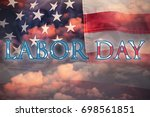 Poster Of  Labor Day Text...