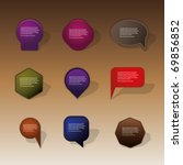 selling badges  tags  labels | Shutterstock .eps vector #69856852