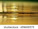 reflection on mirror | Shutterstock . vector #698600575