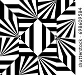 seamless pattern with black... | Shutterstock .eps vector #698609584