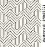 vector seamless pattern. modern ... | Shutterstock .eps vector #698655721