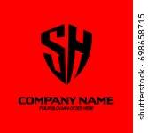 sh logo | Shutterstock .eps vector #698658715