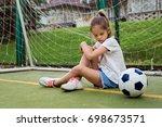 Small Child Wearing Sport...
