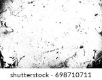metal texture with scratches... | Shutterstock . vector #698710711