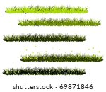 collection of green grass...