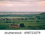 idyllic village landscape