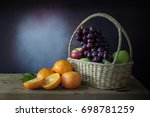 Grapes  Apples And Oranges  In...