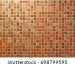 colorful bricks including white ...   Shutterstock . vector #698799595