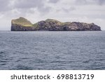 ellidaey an island with small...   Shutterstock . vector #698813719