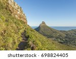 cape town table mountain view... | Shutterstock . vector #698824405