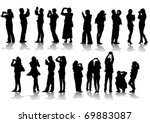 Vector Image Of People...