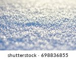 christmas background. texture... | Shutterstock . vector #698836855