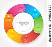 infographic design elements for ...   Shutterstock .eps vector #698839924