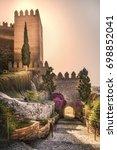 Small photo of Muslim fortress of Almeria