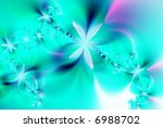 garland of flowers | Shutterstock . vector #6988702