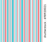abstract retro striped colorful ... | Shutterstock .eps vector #698920021