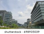 the hong kong science and... | Shutterstock . vector #698935039