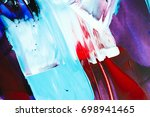 painted abstract background | Shutterstock . vector #698941465