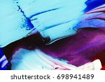 painted abstract background | Shutterstock . vector #698941489