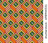 seamless abstract pattern with... | Shutterstock .eps vector #698944531