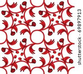 medieval styled decorative... | Shutterstock .eps vector #69897913