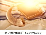 Abstract Image Of Prayer Shawl...
